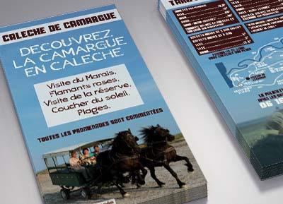 Calèche en Camargue